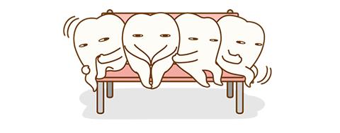 歯並びが悪い状態